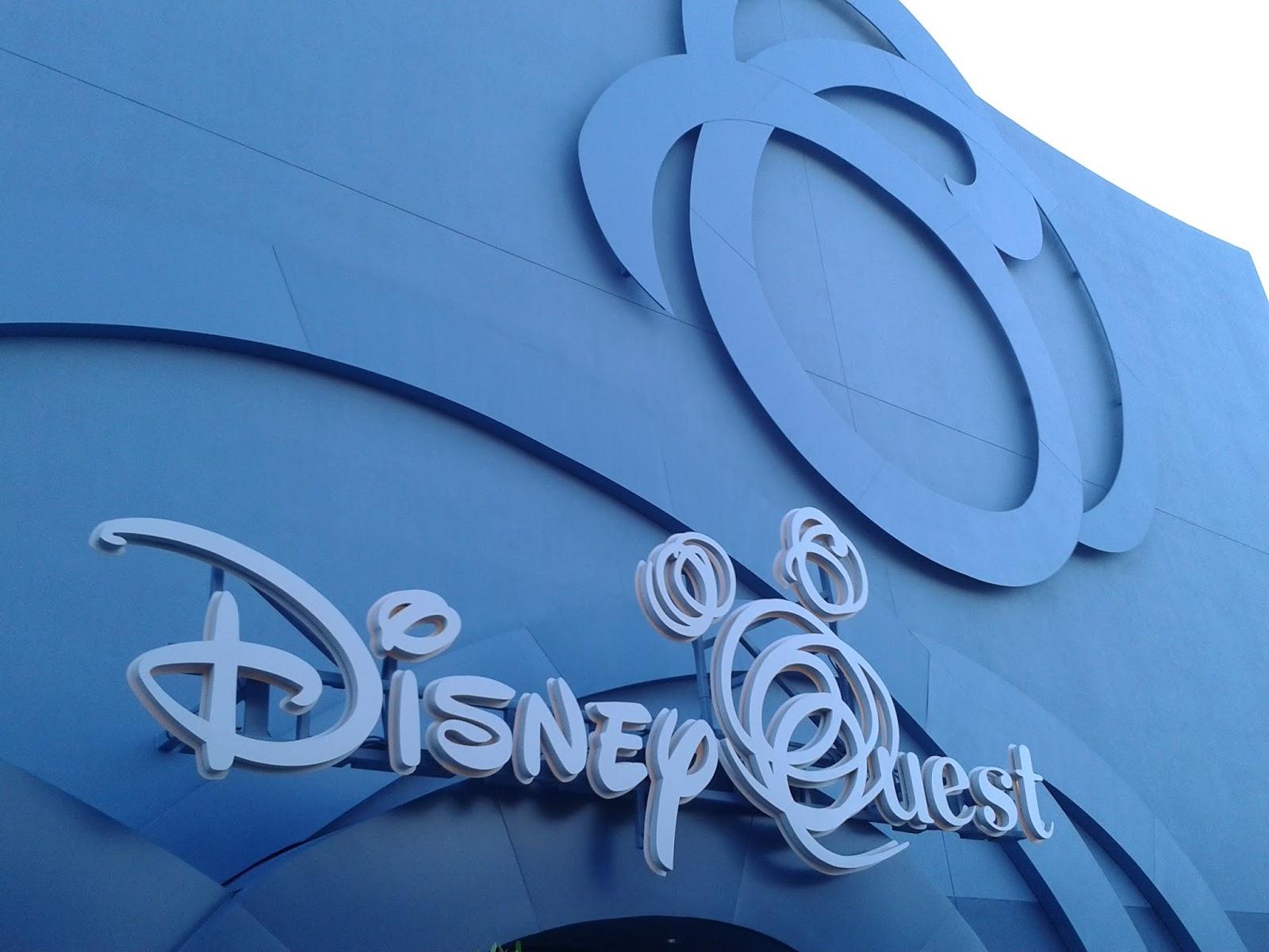 Downtown Disney Quest