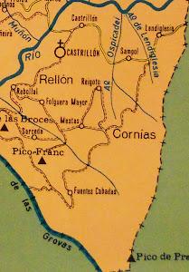 Mapa de la Parroquia