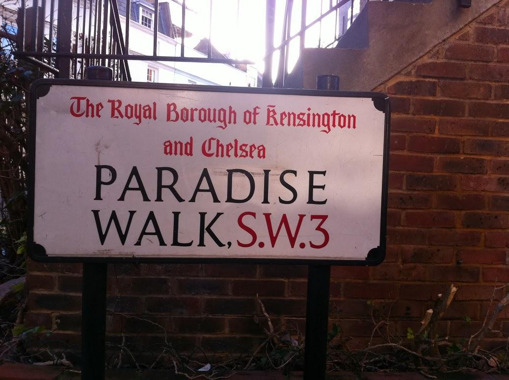 Paradise Walk, London SW3