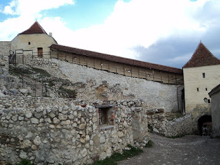 Rasnov Citadel Tower top-entry