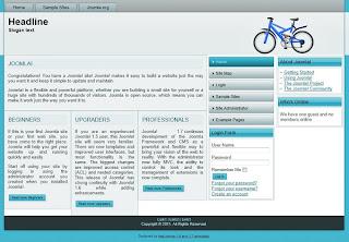 free joomla 1.7 templates blue