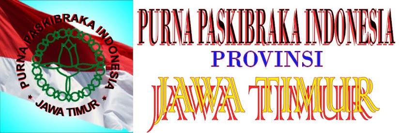 PURNA PASKIBRAKA INDONESIA JAWA TIMUR