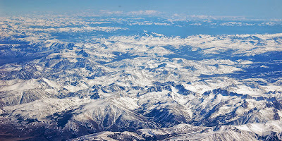Sierra Nevada Mountain California US