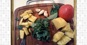 Pineapple Rasam steps and procedures