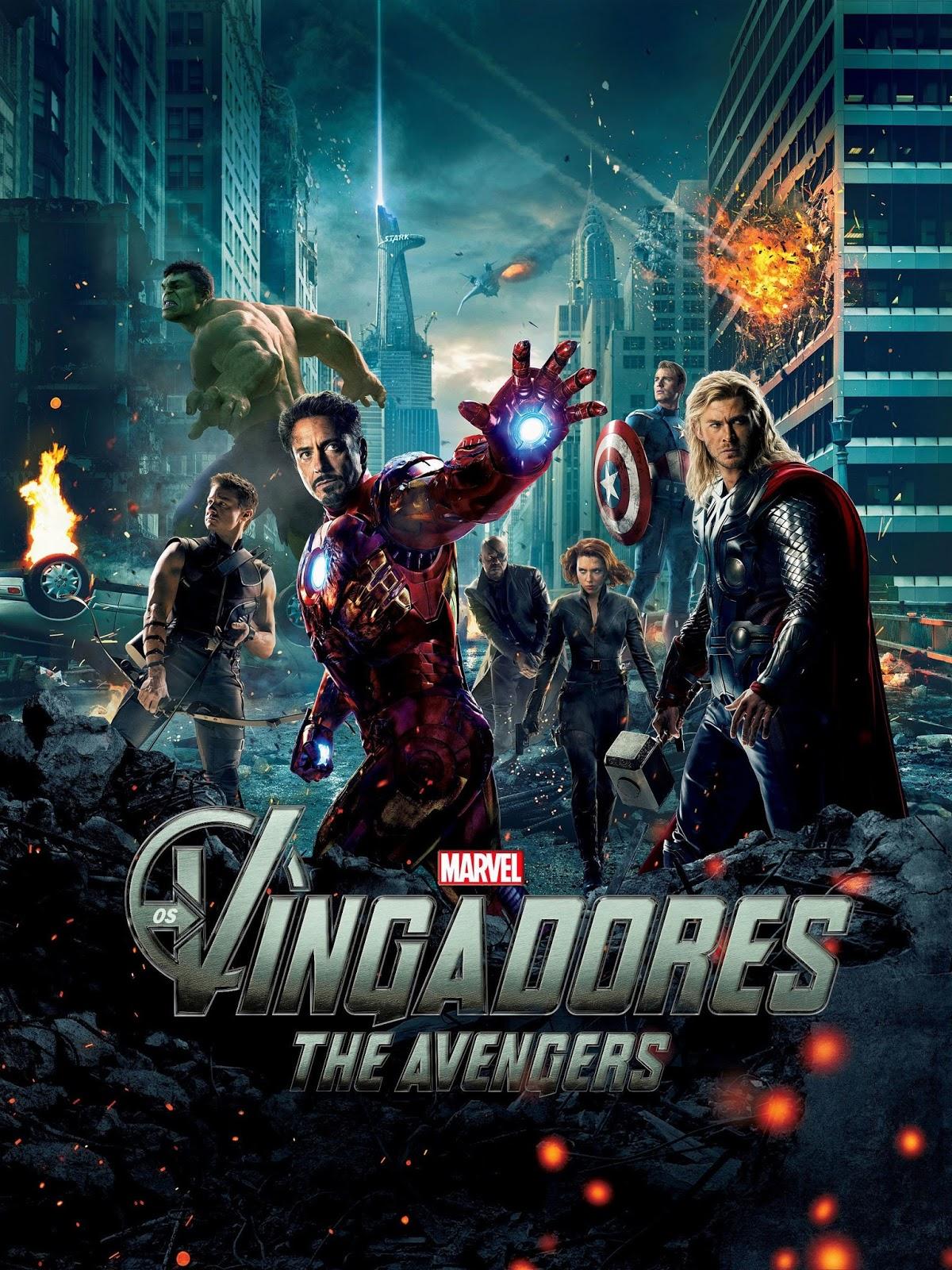 Os Vingadores – Dublado (2012)