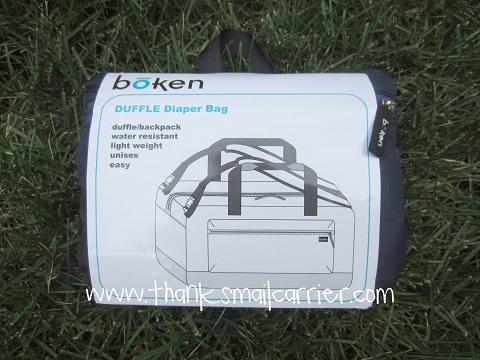 Boken Duffle Diaper Bag
