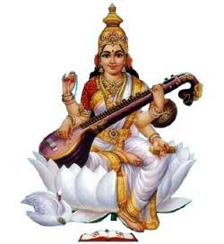 Goddess Saraswathi images pictures