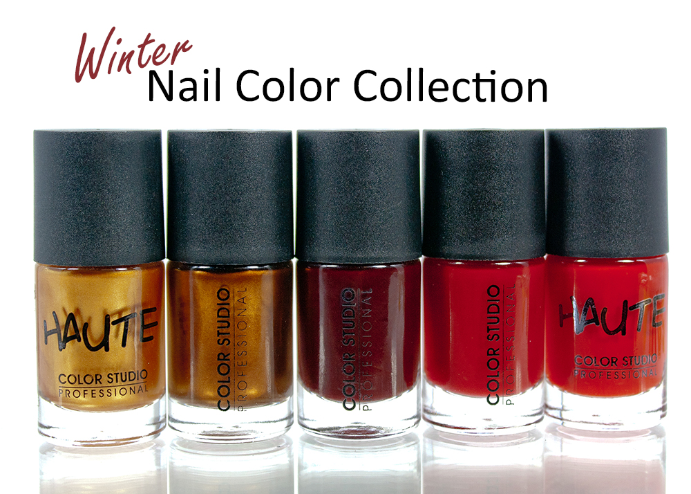 Winter Nail Color Collection ~ Color Studio Professional