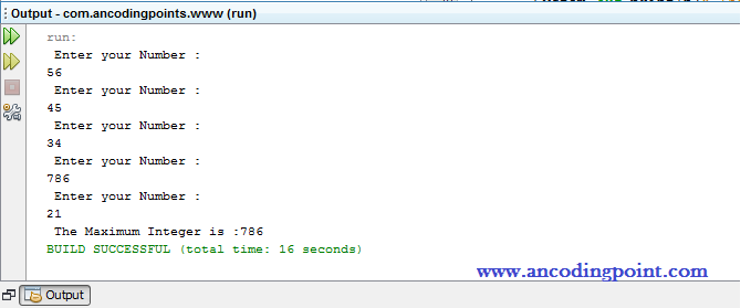 Java Array Programming