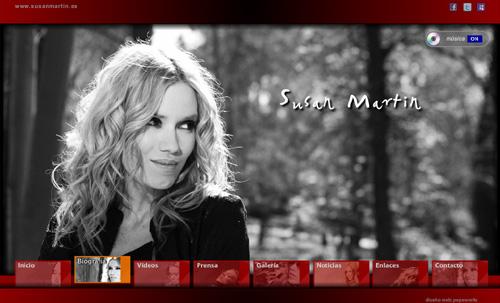ver página web de Susan Martin (cantante, músico, actriz)