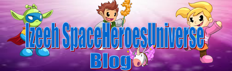 Izeeh SpaceHeroesUniverseBlog