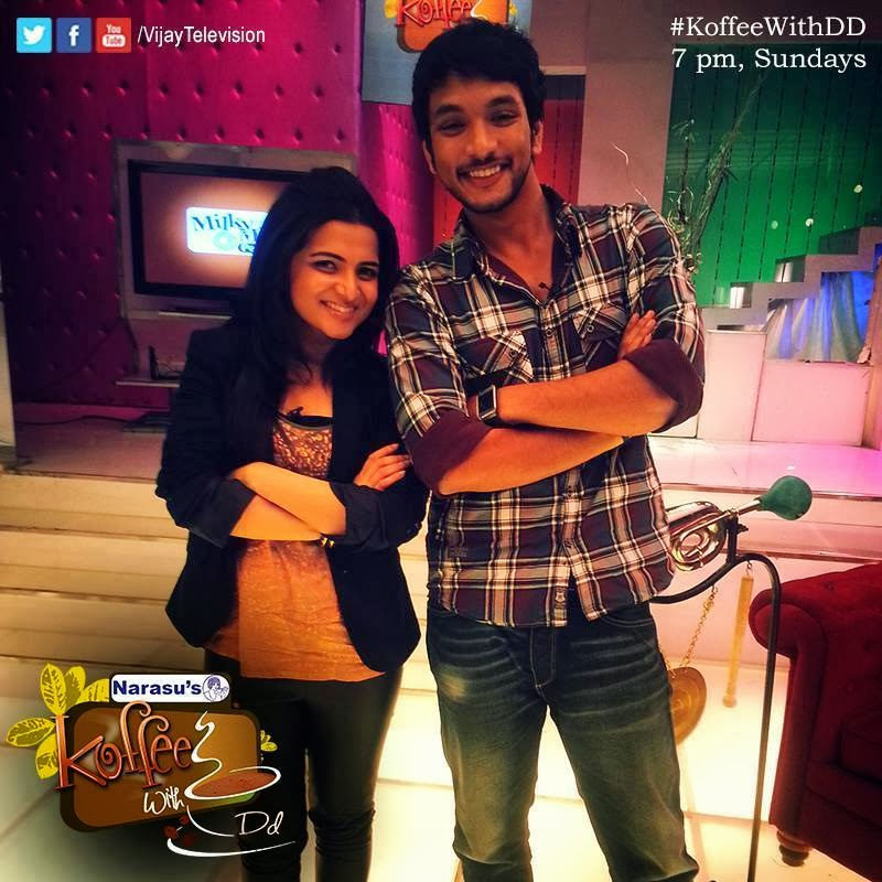 Koffee With DD Gautham Karthik 12-01-2014 Full Program Vijay Tv  Watch Online Free Download