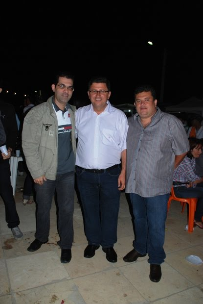 PREFEITO ADELMO MOURA, ARQUIMDES E FABIANO
