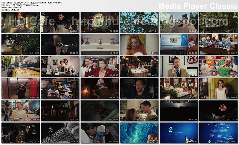 The Smurfs 2011 video thumbnails