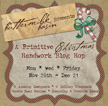 A Primitive Christmas Handwork Blog Hop!