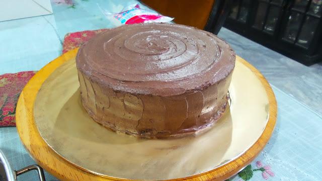 Menerima tempahan Devil's Food Chocolate Cake di Ipoh Perak