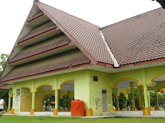 Tribun Lapangan Kota Pangkajene Kepulauan