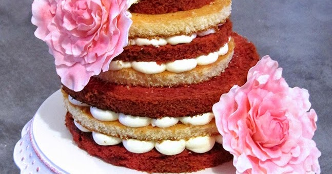 Bloggoloso: Naked cake con peonie
