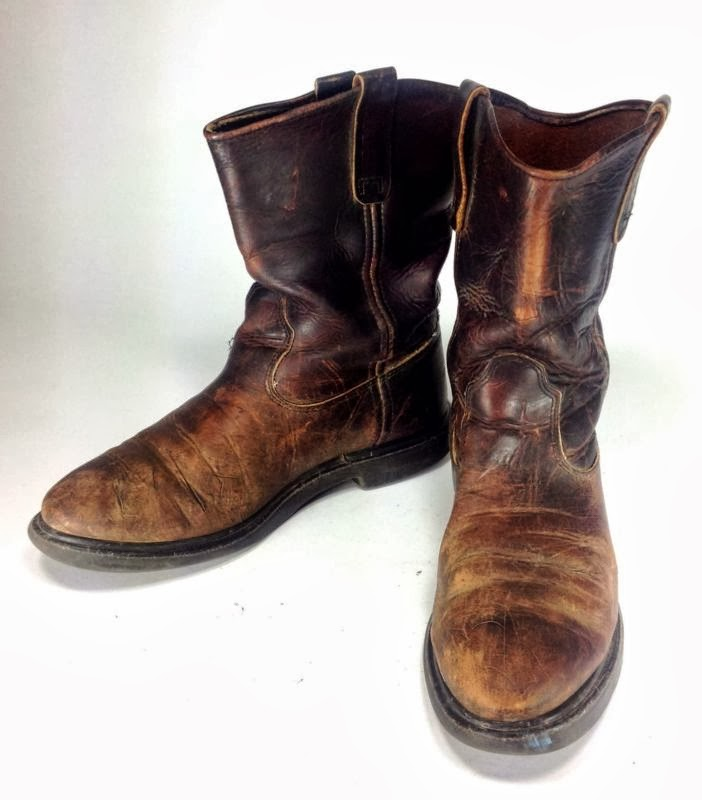 vintage wing pecos boots vintage americana toggery