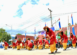Rangguk Dance at Sungai Penuh