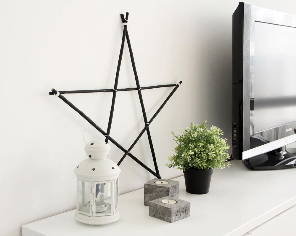 Diy haz tu propia estrella de madera alquimia deco - Haz tu propia casa ...