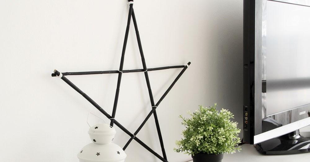 Diy haz tu propia estrella de madera alquimia deco - Alquimia deco ...