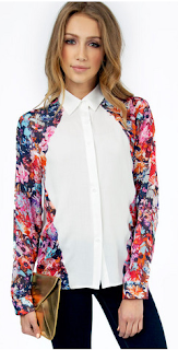 Breaking Buds Blouse [Pink]