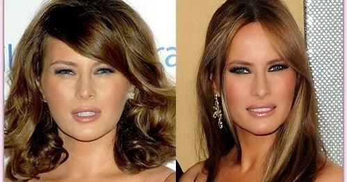Melania Trump No Makeup Melania Trump Plastic Surgery Before And After ...