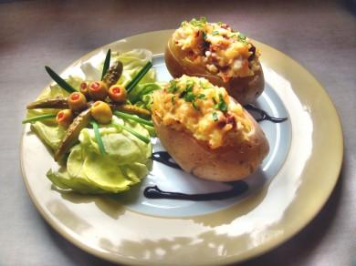 Zapiekany ziemniak