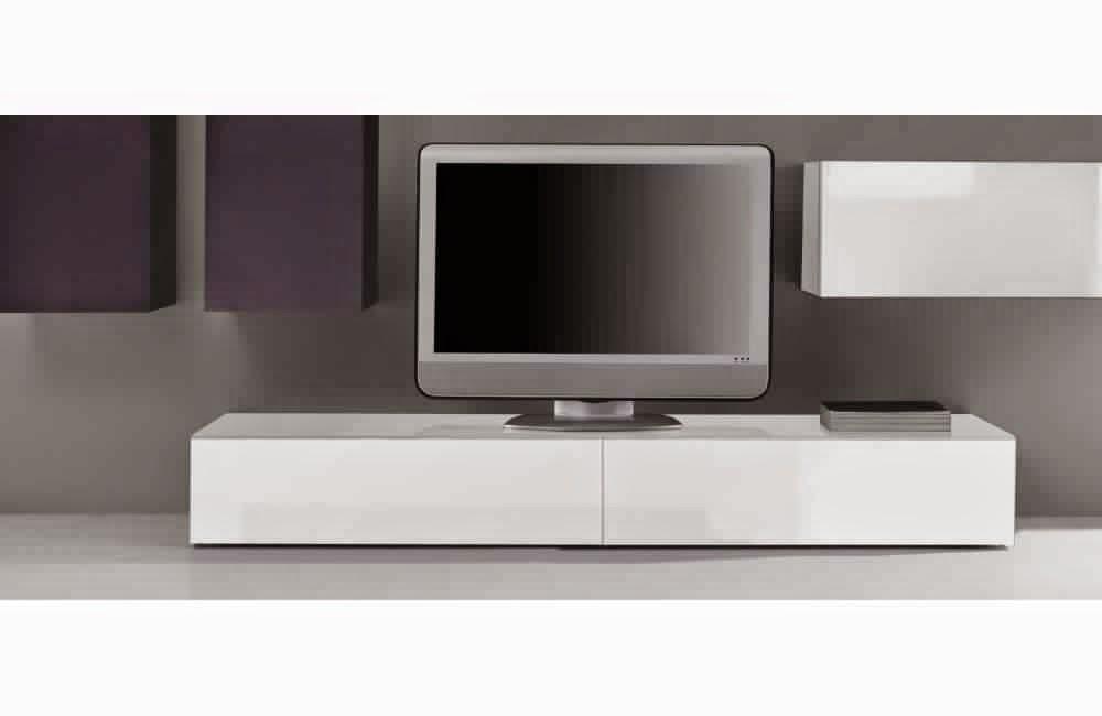 Meuble tv blanc laque - Meuble tv ikea blanc laque ...