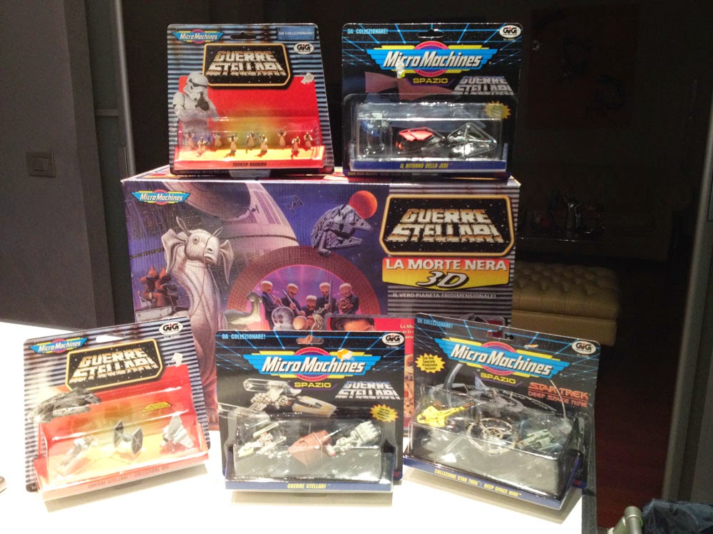 Micro Machines Star Wars Star Trek