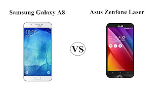 Harga Samsung Galaxy A8 vs Asus Zenfone 2 Laser, Mana Yang Lebih Tangguh ?
