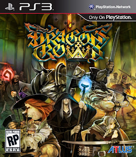 dragons crown ps3 box art Dragon's Crown (PS3/PSV)   Box Art & Art Book
