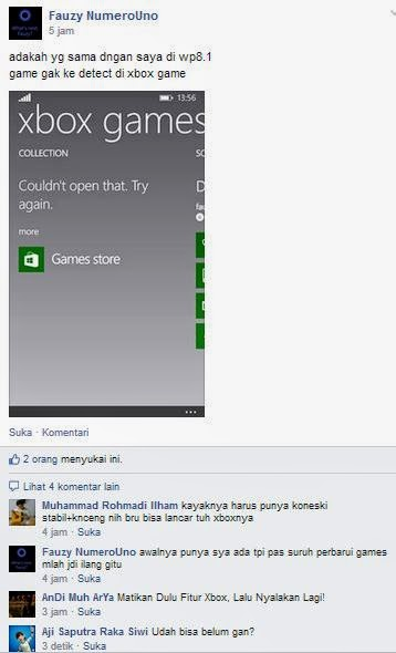 Masalah pada Windows Phone 8.1 Developer Preview