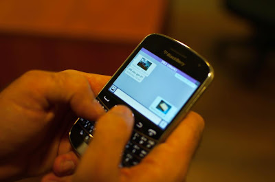 Viber team revealed pictures of Viber for Blackberry smartphones