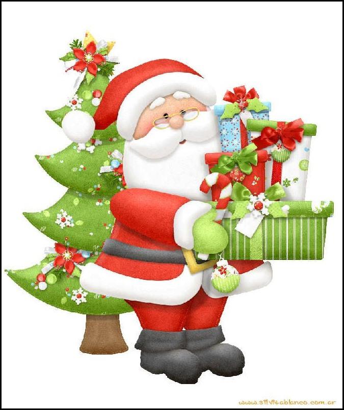 Tarjetas de navidad: Imagenes navideñas santa claus