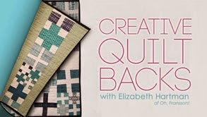 http://www.craftsy.com/class/creative-quilt-backs/117?