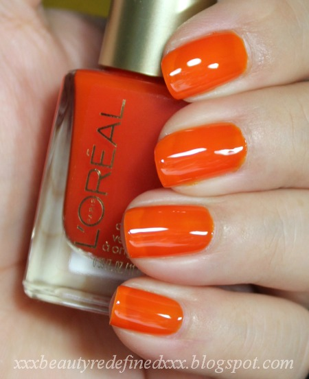 Loreal Nail Polish Swatches: BeautyRedefined By Pang: L'Oreal Miss Candy Nail Polish