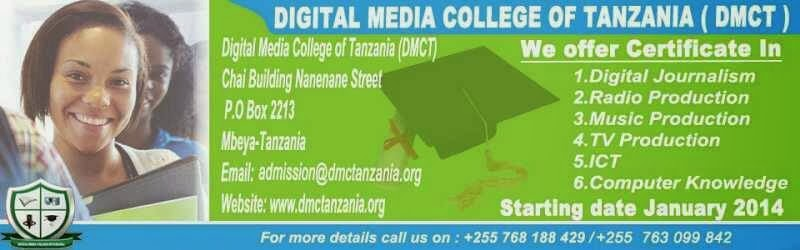 DIGITAL MEDIA COLLEGE OF TANZANIA