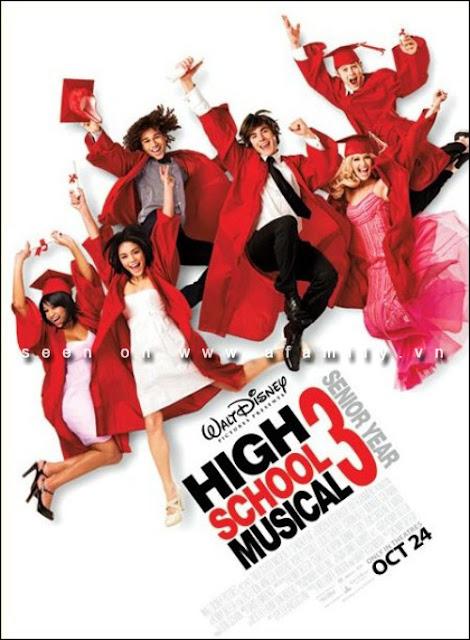 High School Musical 3 (2008) มือถือไมค์ หัวใจปิ๊งรัก