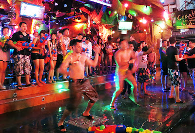 Farang at Songkran