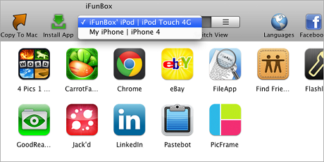 Transfer iFunBox iPhone iTunes