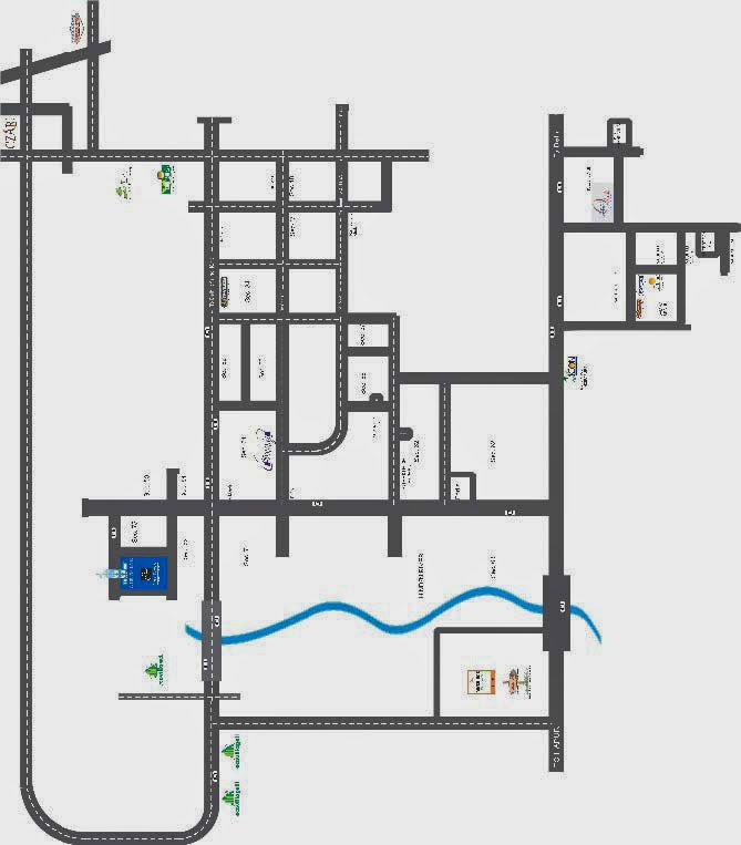 North Eye :: Location Map