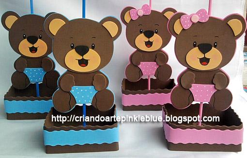 Pinkie Blue Artigos Para Festa Ursinho Príncipe De Eva Centro De