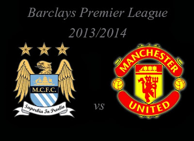 Manchester City vs Manchester United Premier league 2013