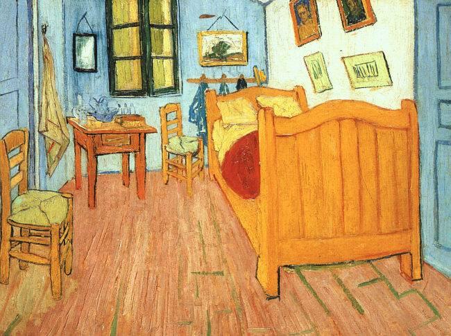 Zone d 39 ombra la camera di vincent ad arles - La camera da letto van gogh ...