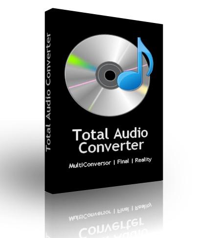 Скачать Бесплатный аудио конвертер Total Audio Converter 5.1 + Ключ.