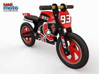 детски мотор Марк Маркес kiddimoto мотоциклет