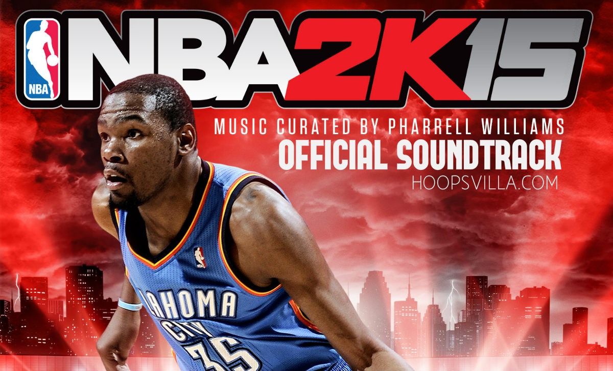nba 2k15 official soundtrack list listen download pharell williams