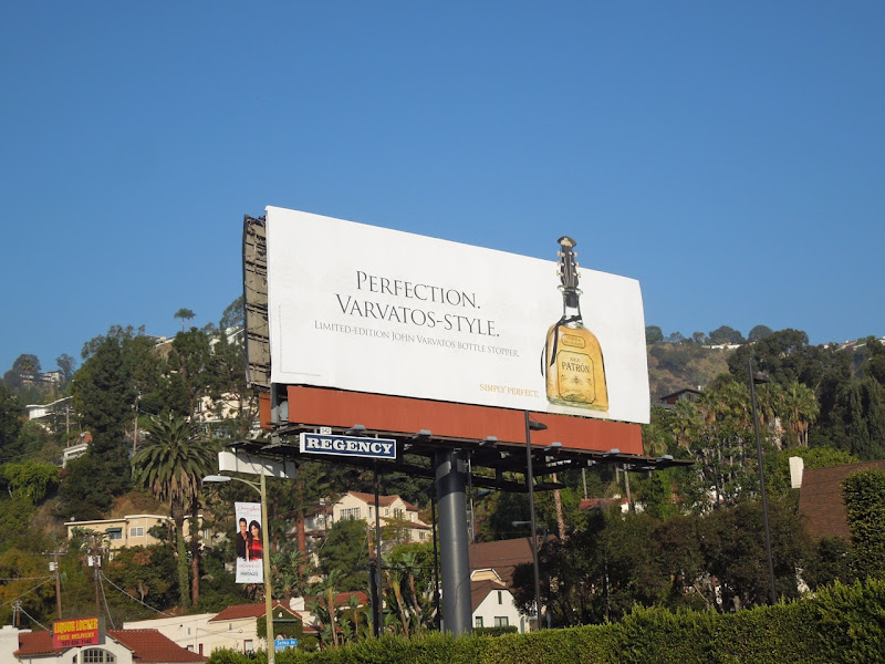 Patron Varvatos limited edition billboard